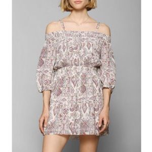 UO Ecote off the shoulder peasant dress